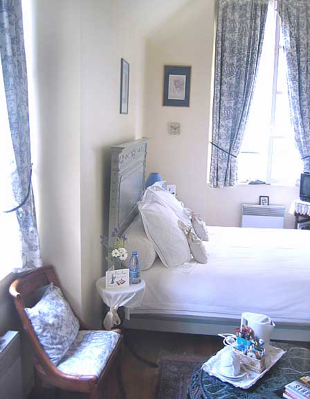 The bedroom of the b&b 241