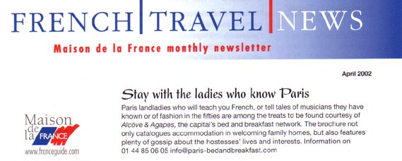 French travel news